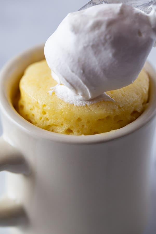 Apple Mug Cake Microwave