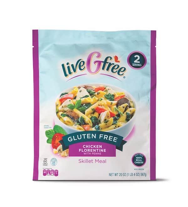 liveGfree Gluten Free Skillet Meals