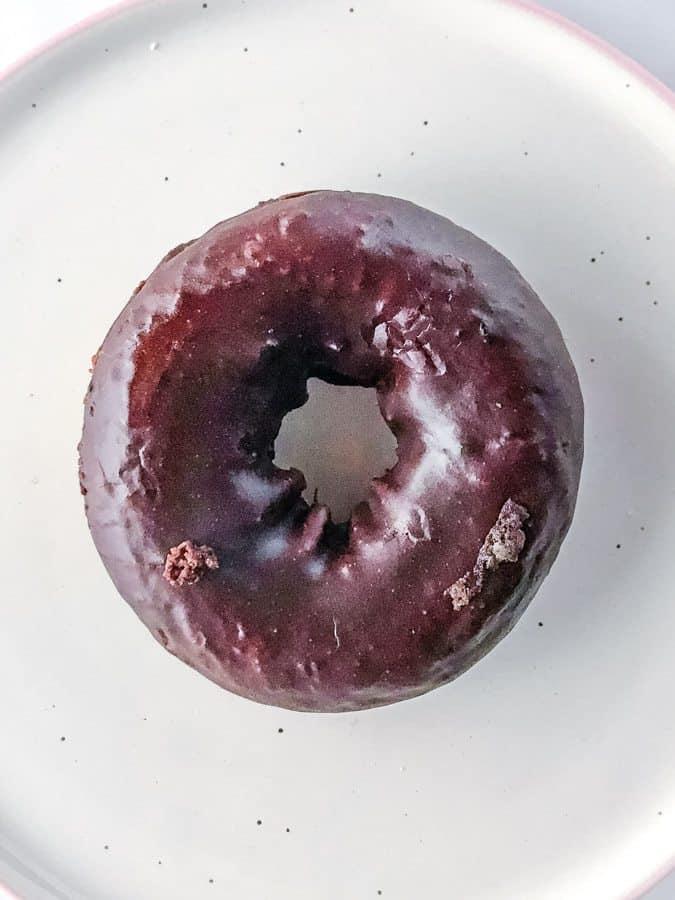 Aldi Gluten-Free Chocolate Frosted Doughnut