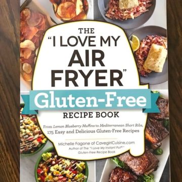 Book Cover: I Love My Air Fryer Gluten-Free Recipe Book