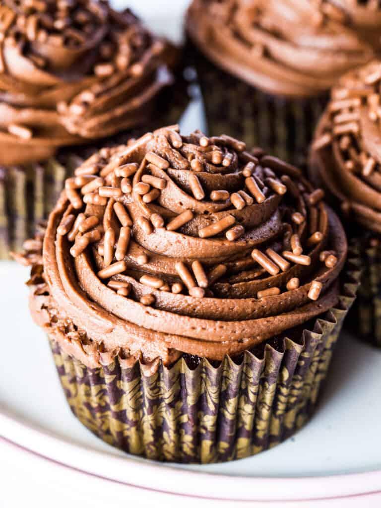 Easy Gluten Free Chocolate Cupcakes Gluten Free Baking